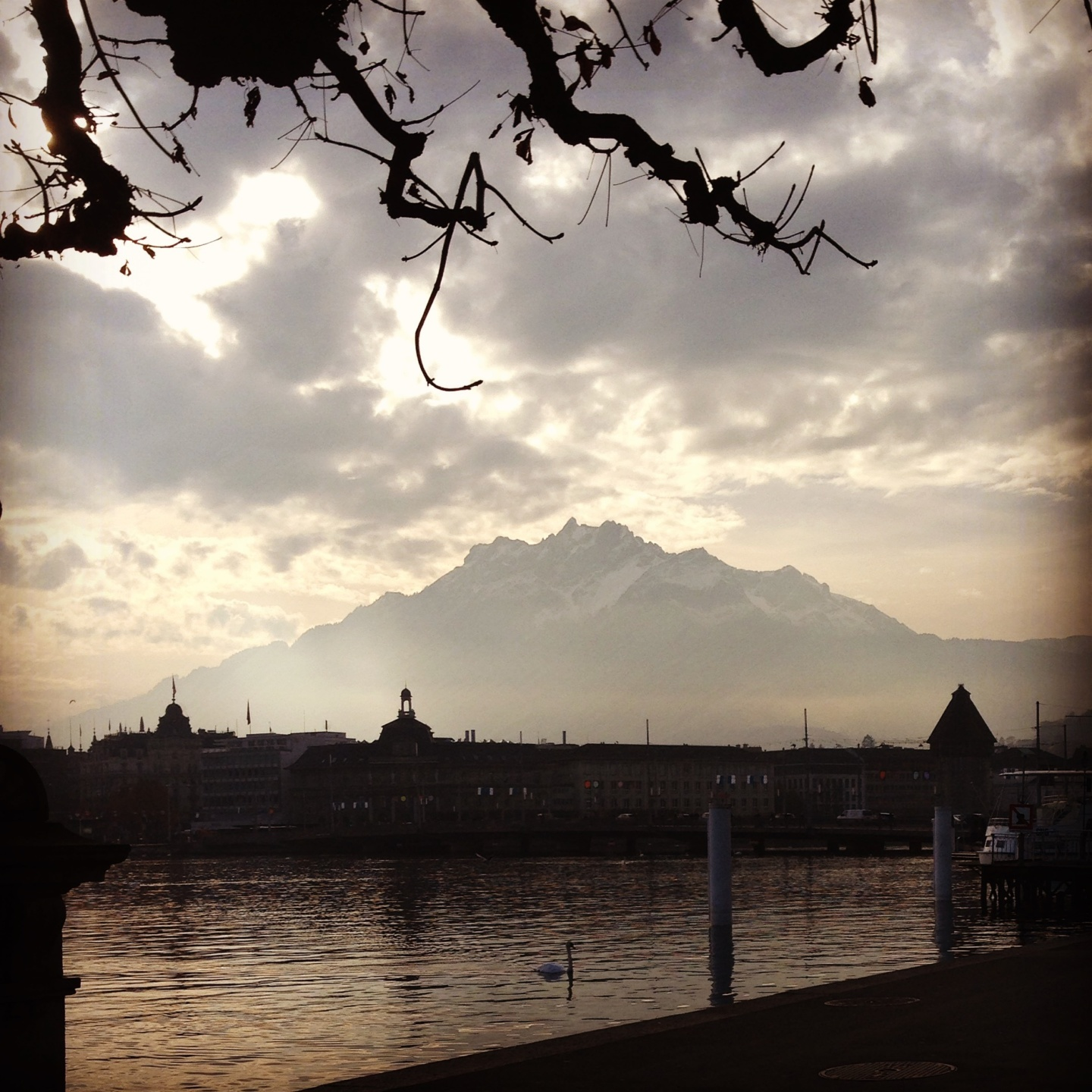 a winter trip to lucerne switzerland