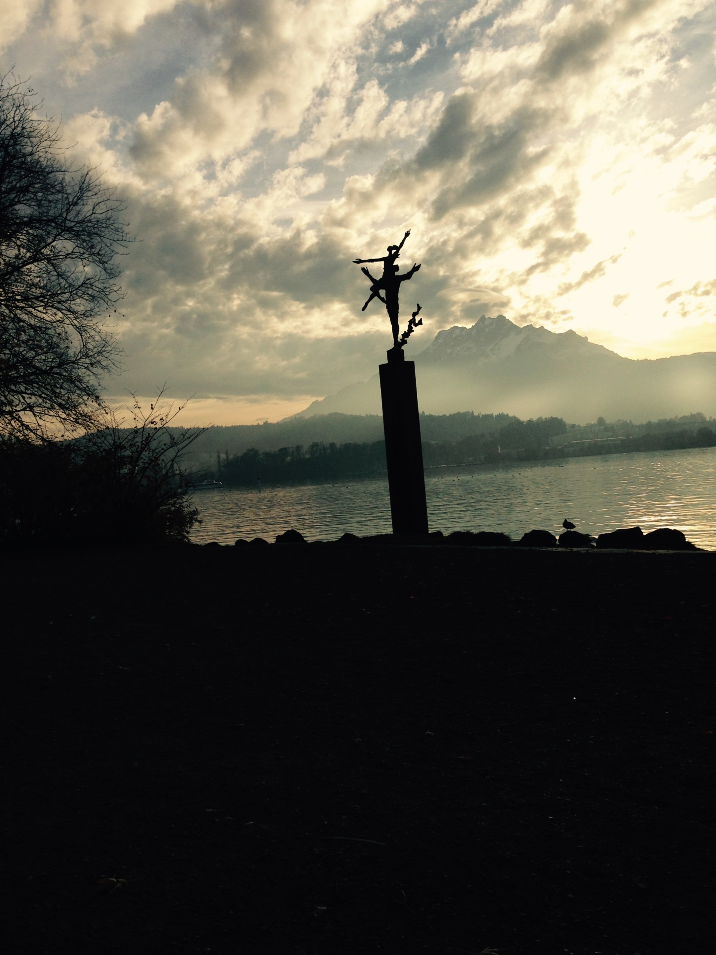 a winter holiday to lucerne and basel Switzerland