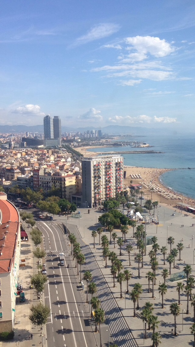 Summer Break in Barcelona, Spain
