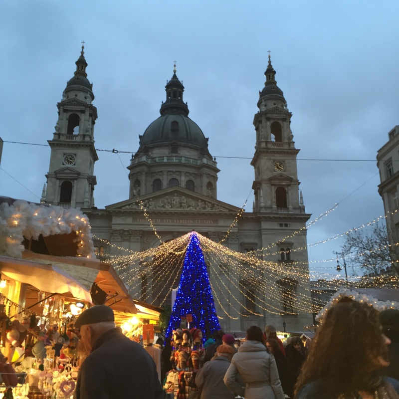 Wanderlustbee Christmas break in budapest