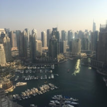 Dubai marina October 2016 wanderlustbee bee