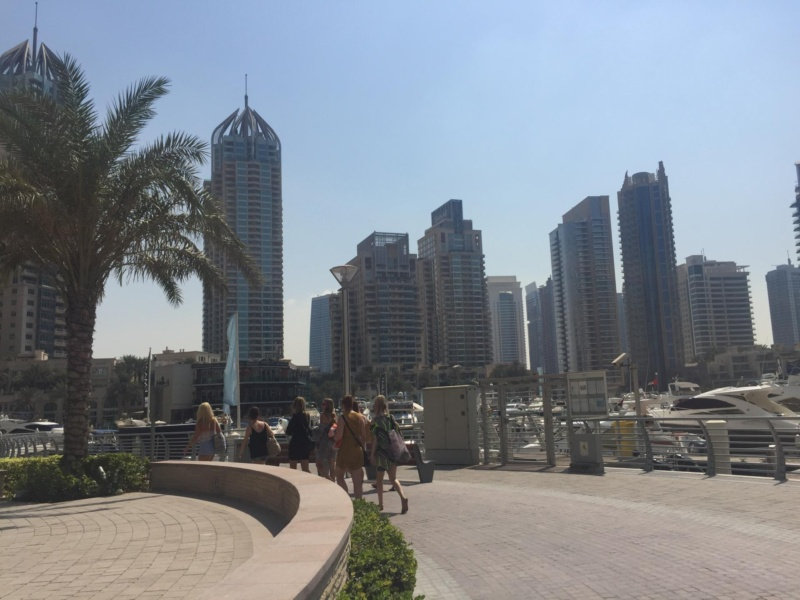 wanderlust bee six days in dubai with the girls for a city break - dubai marina