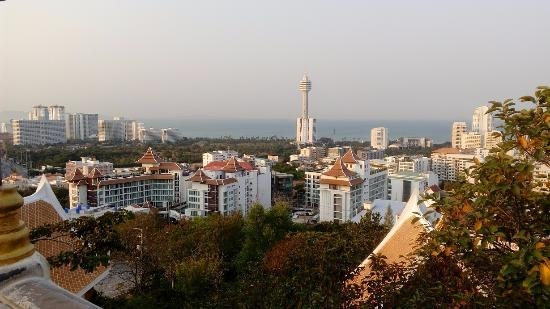 The view across Pattaya City